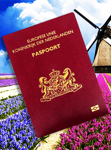 荷兰护照样本