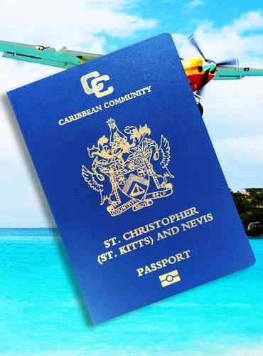 圣基茨护照样本